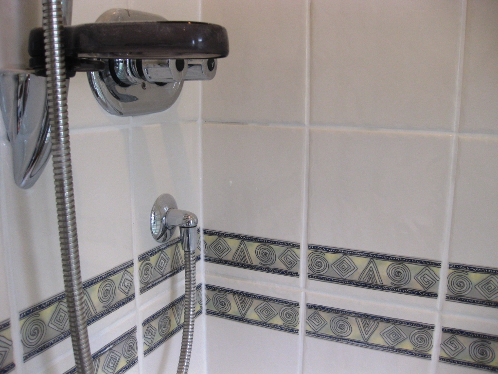 Ceramic Tiled Bathroom After Cleaning and Sealing
