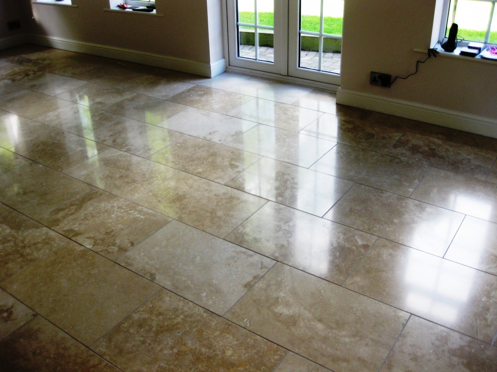 Travertine Tile in Wynyard After